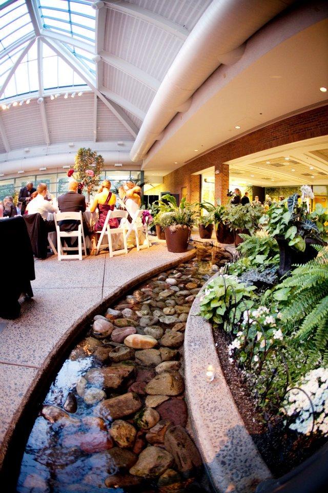 The atrium at meadowlark botanical gardens genevieve - Meadowlark botanical gardens wedding ...