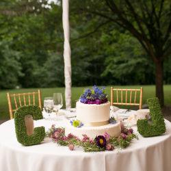 Thomas Jefferson DC Wedding Table Settings
